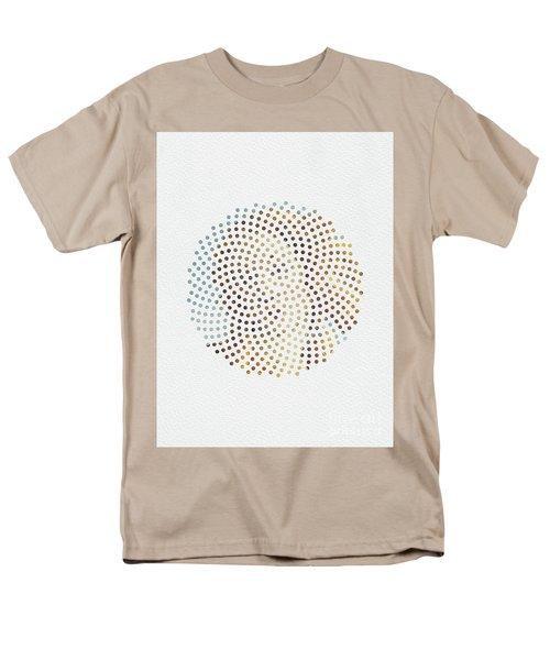 Men's T-Shirt  (Regular Fit) featuring the digital art Optical Illusions - Famous Work Of Art 2 by Klara Acel