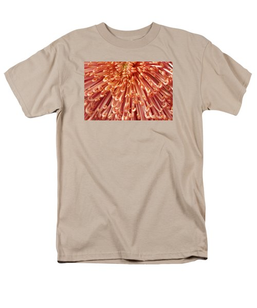Orange Mum Men's T-Shirt  (Regular Fit) by Jim Gillen