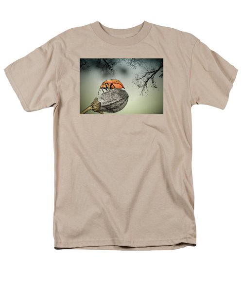 Orange Stink Bug 001 Men's T-Shirt  (Regular Fit) by Kevin Chippindall
