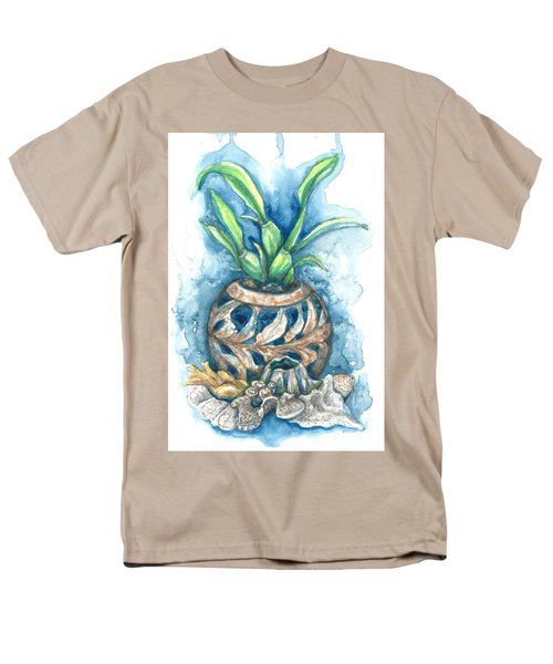 Orchid And Barnacle Men's T-Shirt  (Regular Fit) by Ashley Kujan