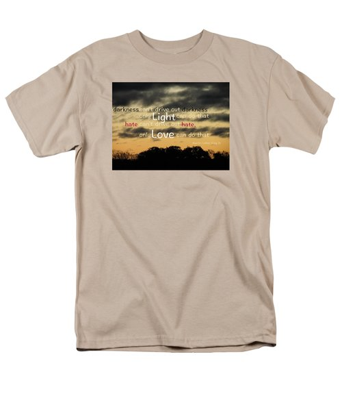 Men's T-Shirt  (Regular Fit) featuring the photograph Overpowering Hate by David Norman