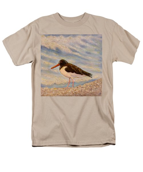 Men's T-Shirt  (Regular Fit) featuring the painting Oyster Catcher by Joe Bergholm