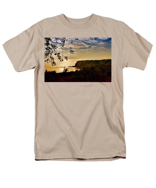 Men's T-Shirt  (Regular Fit) featuring the photograph Pacific Cove Paradise by Joseph Hollingsworth