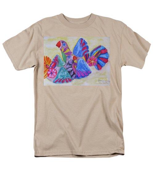 Palomas - Gifted Men's T-Shirt  (Regular Fit) by Judith Espinoza