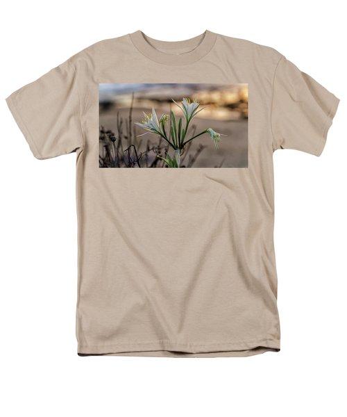 Men's T-Shirt  (Regular Fit) featuring the photograph Pancratium Maritimum L. by Uri Baruch