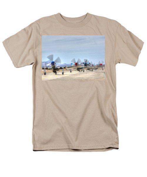 Parade Of Mustangs Men's T-Shirt  (Regular Fit)