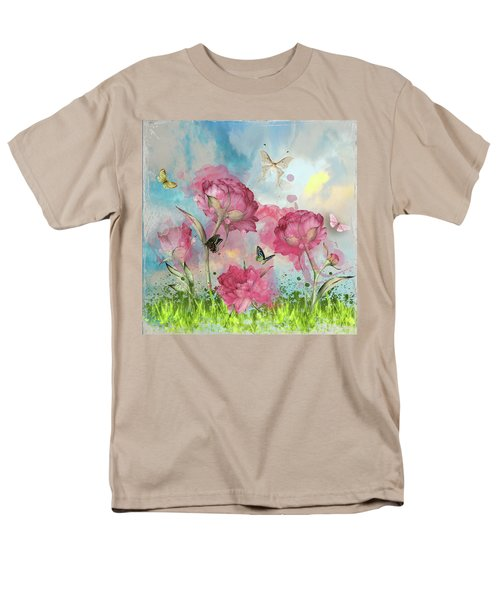 Party In The Posies Men's T-Shirt  (Regular Fit) by Diana Boyd