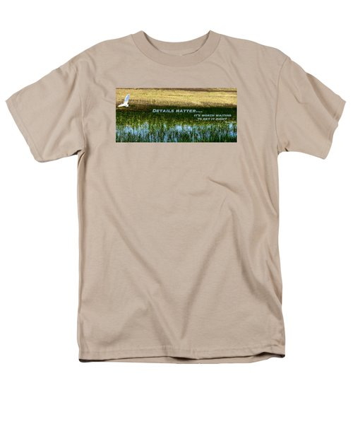 Men's T-Shirt  (Regular Fit) featuring the photograph Patience  by David Norman