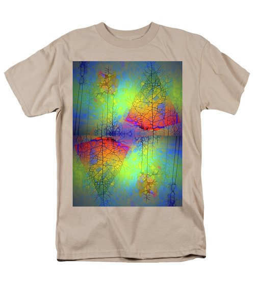 Men's T-Shirt  (Regular Fit) featuring the photograph Peace, Love And Happiness by Tara Turner