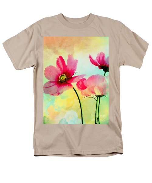 Men's T-Shirt  (Regular Fit) featuring the digital art Peacefulness by Klara Acel