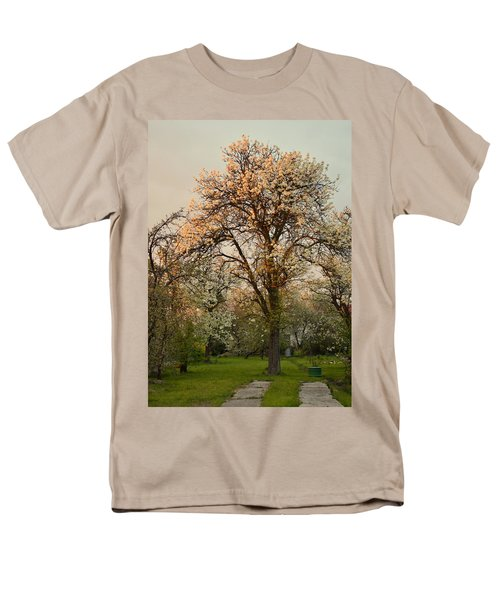 Pear Spring Sunrise Men's T-Shirt  (Regular Fit) by Henryk Gorecki
