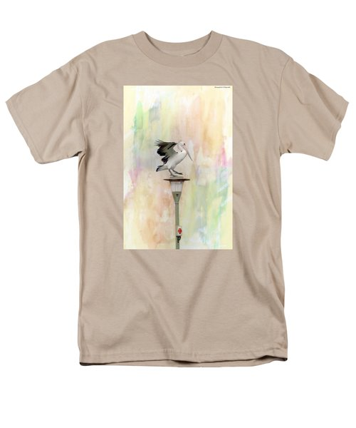 Men's T-Shirt  (Regular Fit) featuring the photograph Pelican Beauty 000004 by Kevin Chippindall