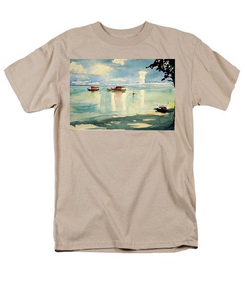 Penang Beach Men's T-Shirt  (Regular Fit) by Tom Simmons