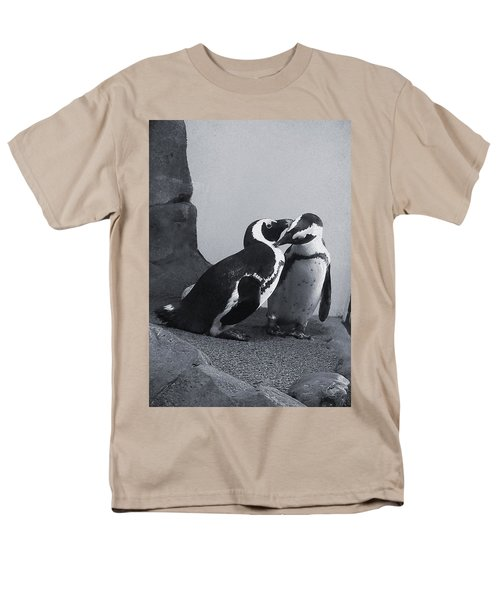 Penguins Men's T-Shirt  (Regular Fit) by Sandy Taylor
