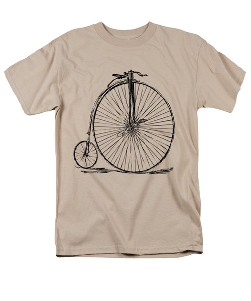 Penny-farthing 1867 High Wheeler Bicycle Vintage Men's T-Shirt  (Regular Fit) by Nikki Marie Smith