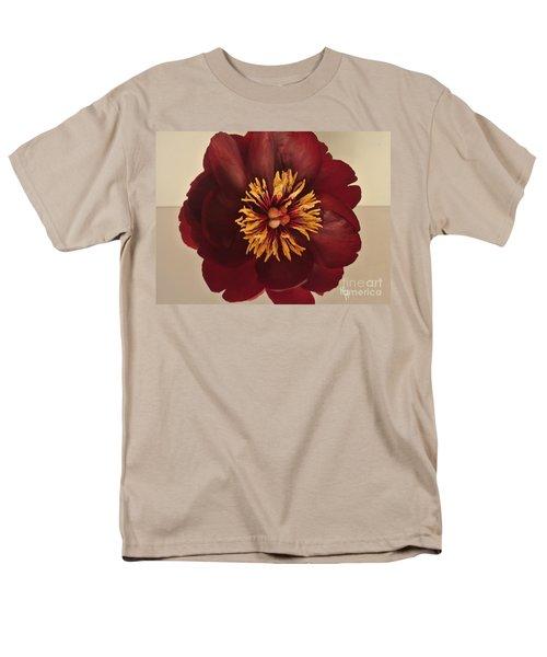 Penny Peony Men's T-Shirt  (Regular Fit) by Marsha Heiken