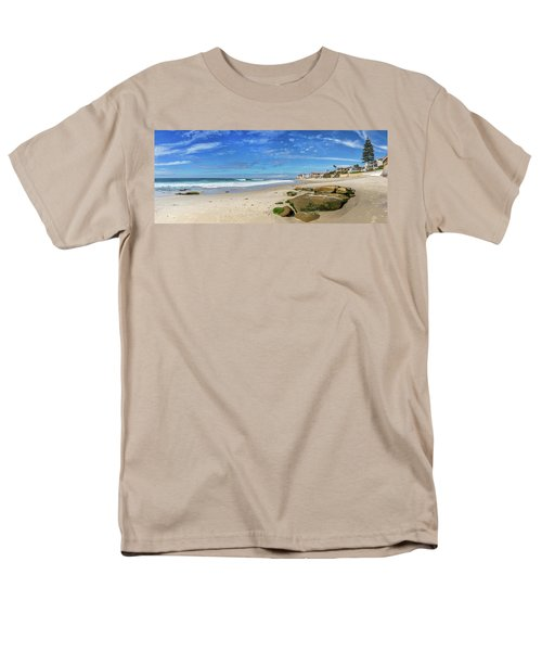Men's T-Shirt  (Regular Fit) featuring the photograph Perfect Day At Horseshoe Beach by Peter Tellone