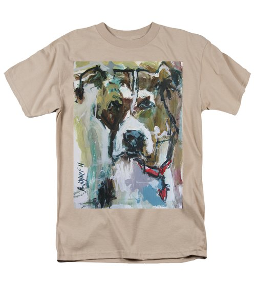 Men's T-Shirt  (Regular Fit) featuring the painting Pet Commission Painting by Robert Joyner