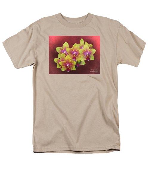 Phalaenopsis Orchid Flower Men's T-Shirt  (Regular Fit) by Suzanne Handel
