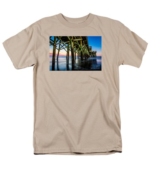 Pier Perspective Men's T-Shirt  (Regular Fit) by David Smith