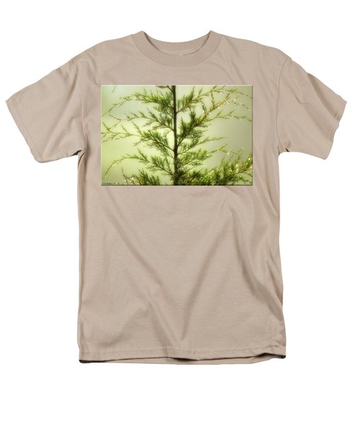 Men's T-Shirt  (Regular Fit) featuring the photograph Pine Shower by Brian Wallace
