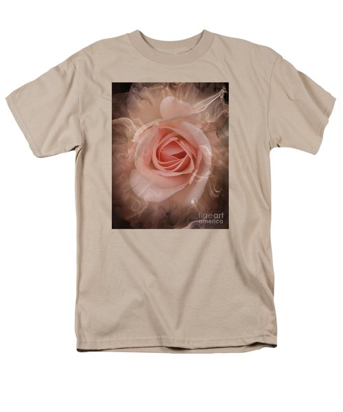 Pink Smokey Men's T-Shirt  (Regular Fit) by Clare Bevan