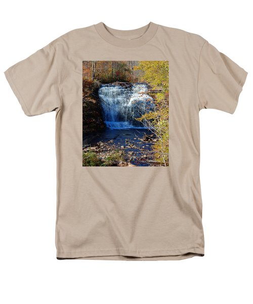 Men's T-Shirt  (Regular Fit) featuring the photograph Pixley Falls State Park by Diane E Berry