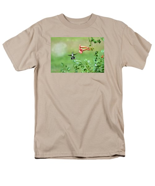 Men's T-Shirt  (Regular Fit) featuring the photograph Playing Around by Lila Fisher-Wenzel