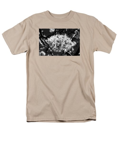 Men's T-Shirt  (Regular Fit) featuring the photograph Plum Blossoms by Steven Clipperton