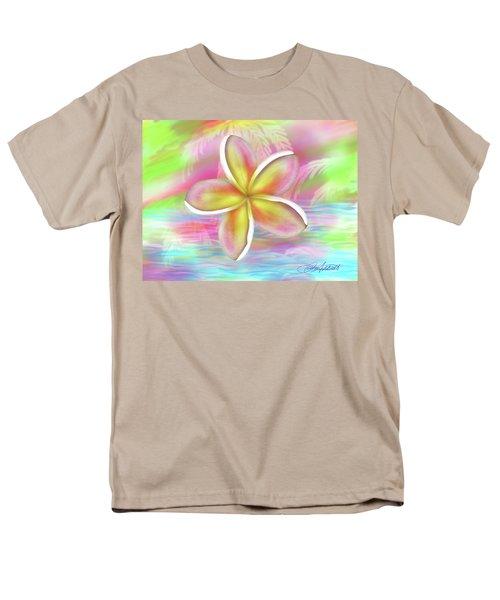 Plumeria Paradise Men's T-Shirt  (Regular Fit) by Dani Abbott