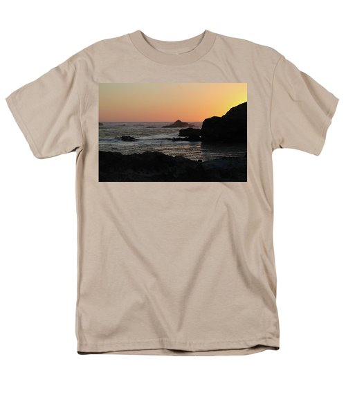 Point Lobos Sunset Men's T-Shirt  (Regular Fit) by David Chandler