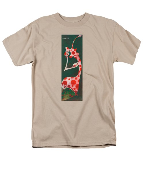 Men's T-Shirt  (Regular Fit) featuring the painting Polka Dots by Maya Manolova