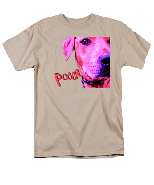 Pooch Men's T-Shirt  (Regular Fit) by Mim White