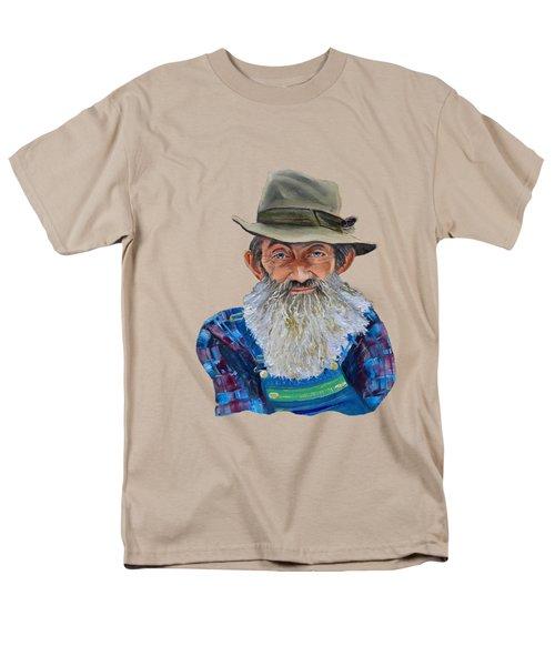 Popcorn Sutton Rocket Fuel- Transparent For T-shirt Men's T-Shirt  (Regular Fit)