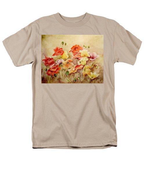 Poppies Men's T-Shirt  (Regular Fit) by Marilyn Zalatan