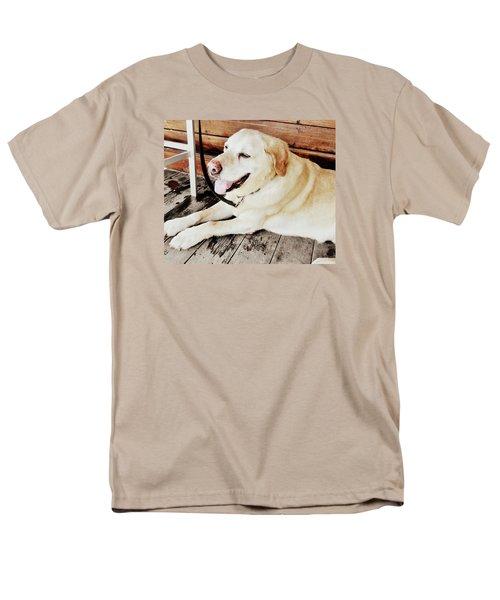 Porch Pooch Men's T-Shirt  (Regular Fit)