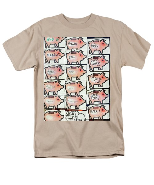 Men's T-Shirt  (Regular Fit) featuring the photograph Porkys Place by Joe Jake Pratt