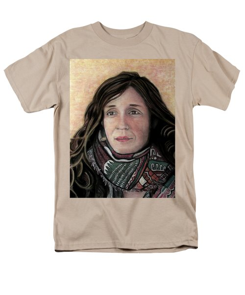 Portrait Of Katy Desmond, C. 2017 Men's T-Shirt  (Regular Fit) by Denny Morreale