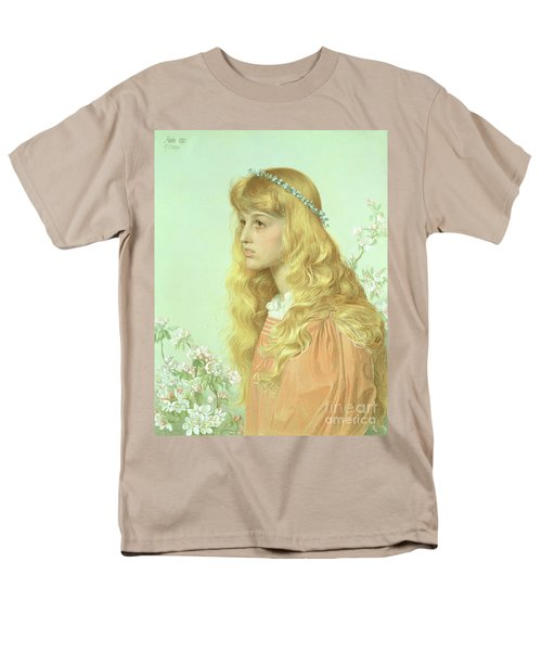 Portrait Of Miss Adele Donaldson, 1897 Men's T-Shirt  (Regular Fit) by Anthony Frederick Augustus Sandys