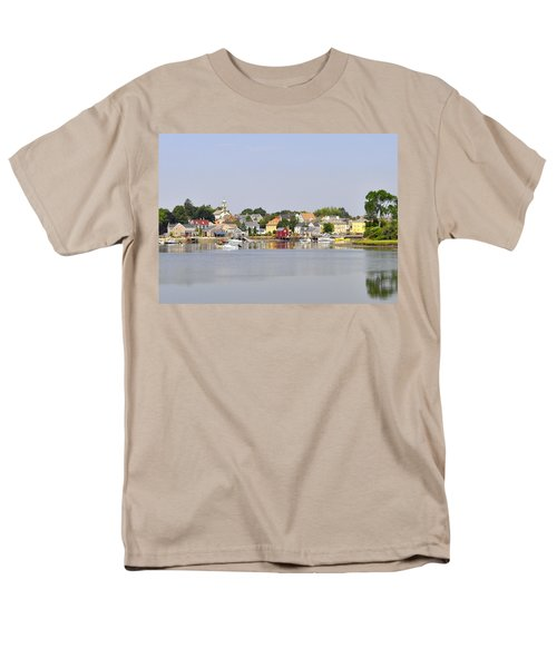 Portsmouth Nh South End Psep Men's T-Shirt  (Regular Fit) by Jim Brage