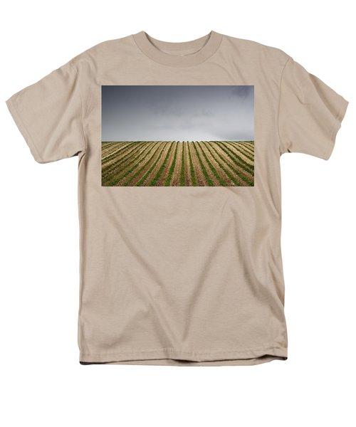 Potato Field Men's T-Shirt  (Regular Fit) by John Short