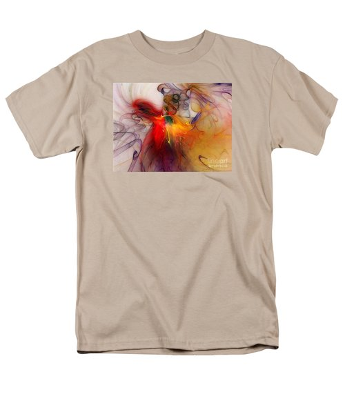 Powers Of Expression Men's T-Shirt  (Regular Fit) by Karin Kuhlmann