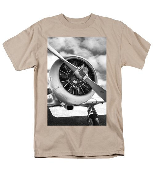 Pratt And Whitney R1340 Wasp Radial Engine Men's T-Shirt  (Regular Fit) by Chris Smith