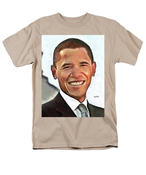 President Barack Obama Men's T-Shirt  (Regular Fit)