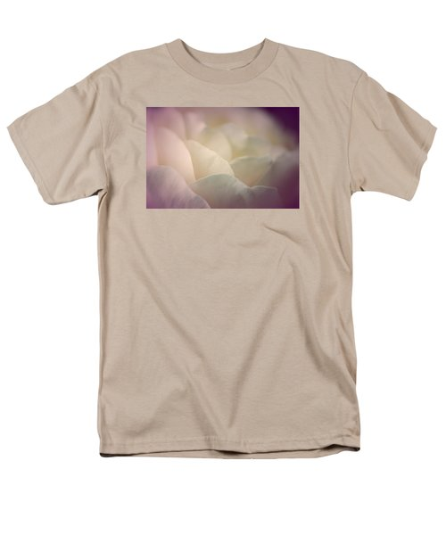 Men's T-Shirt  (Regular Fit) featuring the photograph Pretty Cream Rose by The Art Of Marilyn Ridoutt-Greene