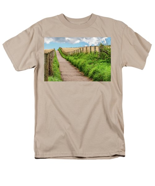 Promenade In Stonehaven Men's T-Shirt  (Regular Fit) by Sergey Simanovsky