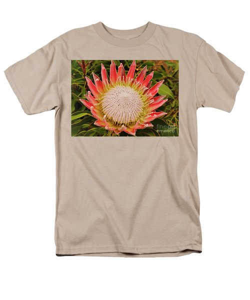 Protea I Men's T-Shirt  (Regular Fit) by Cassandra Buckley