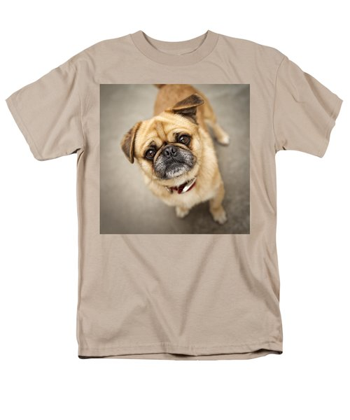 Pug Dog 2 Men's T-Shirt  (Regular Fit) by Mike Santis