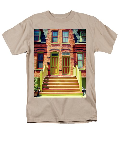 Pullman National Monument Row House Men's T-Shirt  (Regular Fit) by Kyle Hanson