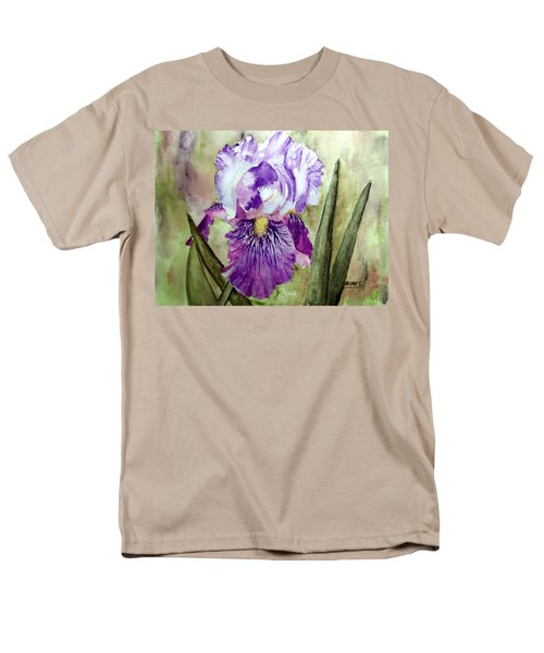 Purple Beauty Men's T-Shirt  (Regular Fit) by Carol Grimes